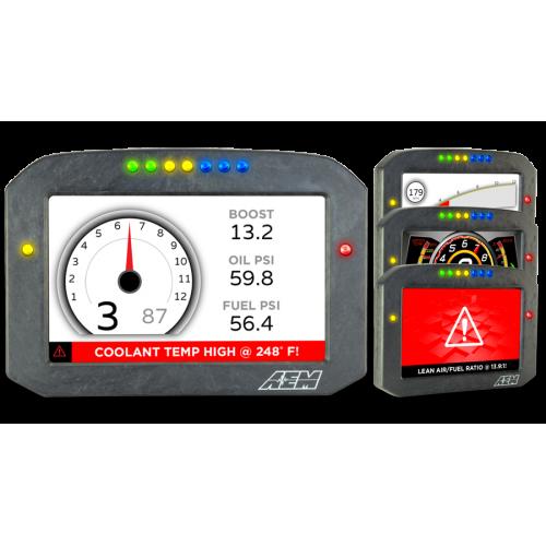 AEM CD-7F Carbon | Flat Panel | Digital Racing Dash Display