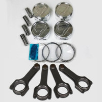 CP Pistons + SCAT Rods Kit | Custom Design | Ford 2.3L | Forged