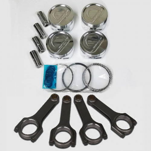 CP Pistons + SCAT Rods Kit | Custom Design | Folvo | Volvo 16v Head