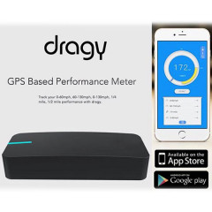 Dragy Performance Measuring Device | GPS | Bluetooth 4.0 | Android | IOS