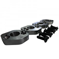 Exhaust - Flip Adapter Flanges for Stock 2.3 Turbo Manifolds