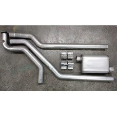 "Exhaust System - Complete | Merkur XR4Ti | 2.3 Turbo | 3"" Single or Dual Exhaust (Header)"