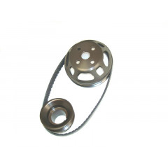 Aluminum Under Drive Pulley Kit | Serpentine | Ultra Light | Ford 2.3L