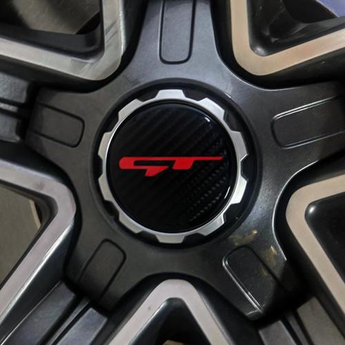 Sticker | Kia Stinger | Wheel Center Caps | GT | E | Vintage K | Set of 4