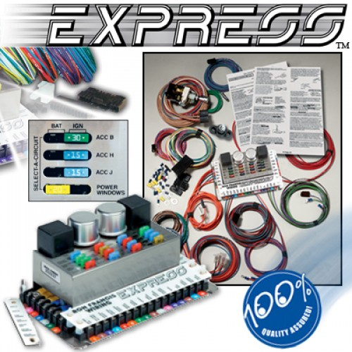 Wiring Harness for 1986 Fox Body Mustang (Express)