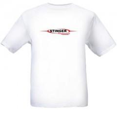 T-Shirt | Stinger Logo | White