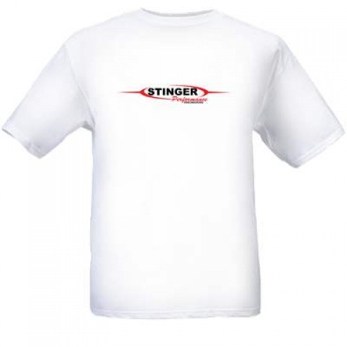 T-Shirt | Stinger Logo | White
