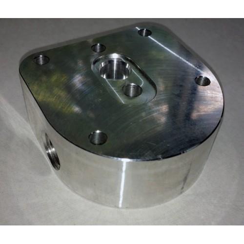 Fuel Pressure Regulator Adapter Block