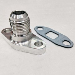Flange | Turbo Oil Return Drain | AN-10