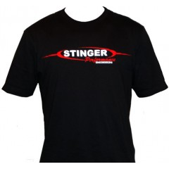 T-Shirt | Stinger Logo | Black