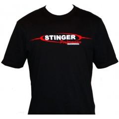 T-Shirt | Stinger Logo | Black