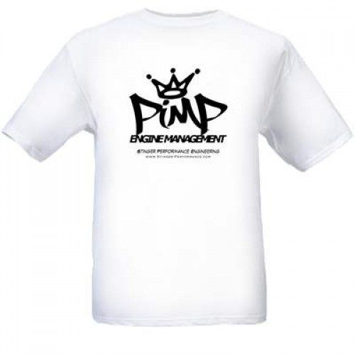 T-Shirt | PiMP Logo | White