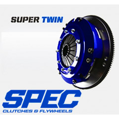 SPEC Clutch | Mustang | 99-04 Cobra | Mach 1 | 01-04 GT | 6 + 8 Bolt | 4.6 | Super Twin