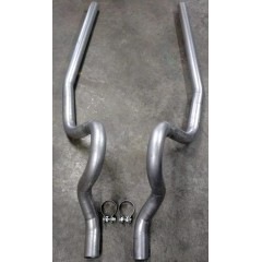 Exhaust - Tailpipes - Mustang 2.5""